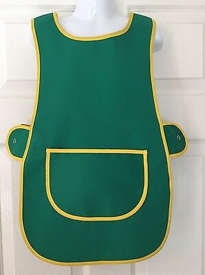 Wholesale Job Lot 20 Brand New Kids Tabard Aprons Green Clothes Craft Toddler