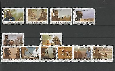 Namibia 2006 Traditional Roles of Men set of 10 single stamps. MNH