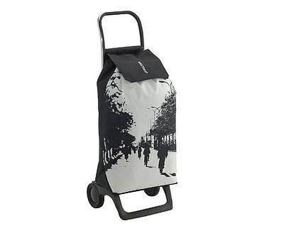 Shopping Trolley Bag On Wheels Cart Lightweight Storage Travel Festival 45L New