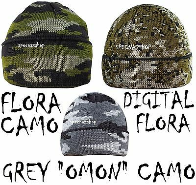 Special Forces Winter Hat WINTER CAMOUFLAGE Beanie VARIOUS CAMOUFLAGES & COLORS