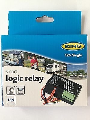 NEW Ring 12N Single Smart Logic Bypass Relay Towing