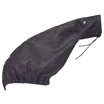Richbrook black leather hand brake gaiter