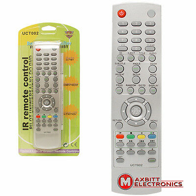 Universal Remote Control For DVD Players Panasonic, Pioneer Philips, Red Star,