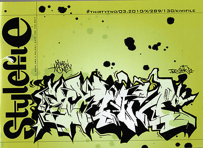 Stylefile Issue 32 Magazin 2010 - Graffiti - Kiwifile - Neu