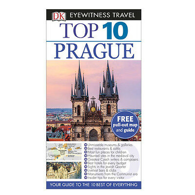 DK Eyewitness Top 10 Travel Guide  Prague By Theodore Schwinke Paperback