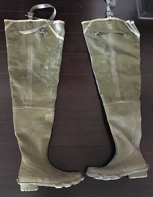 Hodgman Hip Boots Tight Ankle Size 8 With Original Box Style 11667