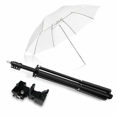 New Single Speedlight Flash ShoeMount Swivel Translucent Soft Umbrella Kit