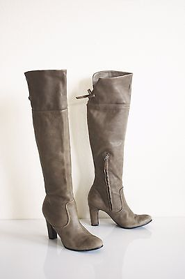9c80c32977e77 SAM EDELMAN SABLE OVER THE KNEE BOOTS 10 Genuine Leather OTK Anthro Shoes