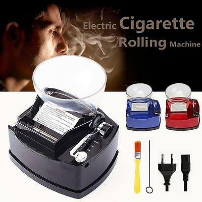 New Electric Cigarette Rolling Machine Tobacco Roller Automatic Injector Gift BI