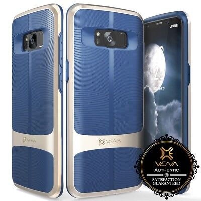 for Samsung Galaxy S8 Plus, Luxury Shockproof Tough Dual Layer Grip Men's Case