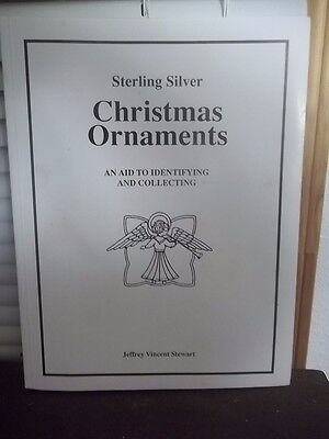 Estate Find Sterling Silver Christmas Ornament Identification Book Newton Nc