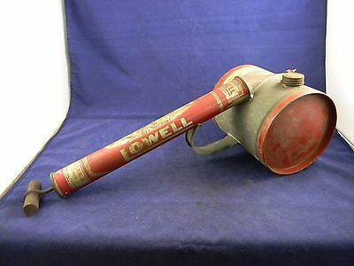 Vintage Lowell Garden Hand Sprayer Made in Chicago USA