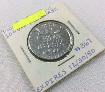 """Mountain Dew """"Dime For A Dew"""" Coin - Exceptionally Rare Piece - Limited Run 1980"""