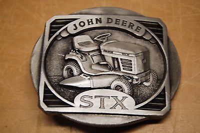 "John Deere ""John Deere STX 38"" Belt Buckle New"