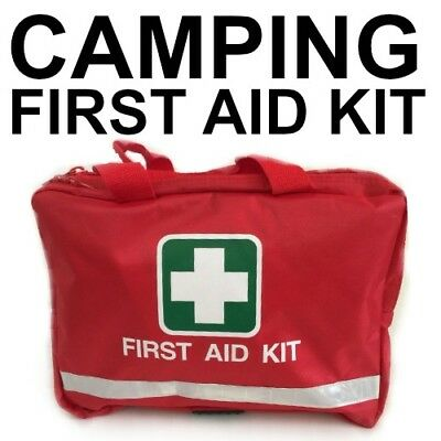 First Aid Kit for CAMPING NEW Code of Practice SURVIVAL RED BAG BEST QUALITY