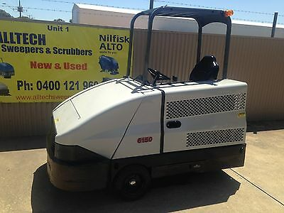 American Lincoln LPG powered ride on sweeper