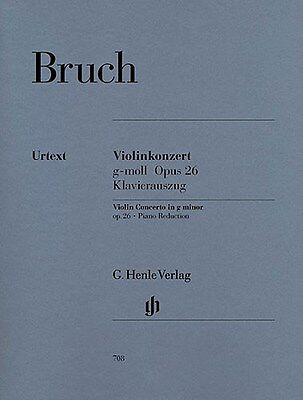 Max Bruch: Violin Concerto In G Minor Op.26. Sheet Music