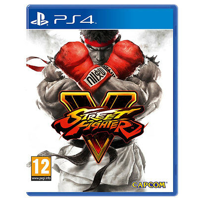 Brand New Sealed Street Fighter 5 Video Game ForSony PS4 Games Console