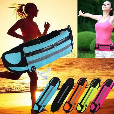 Unisex Waist Belt Bum Bag Jogging Running Travel Pouch Keys Mobile Money Sport