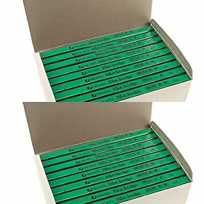 2 boxes 144no Rexel Blackedge Carpenters Pencil GREEN (hard) *CHEAPEST ON EBAY*