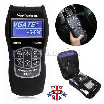 ALL Car UNIVERSAL Fault Reader Code Scanner Diagnostic Tool OBD 2 CAN RESET TOOL