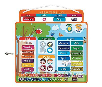 Magnetic Teaching Calendar A Beautiful Day