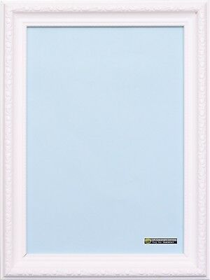 White Picture Photo Frame Ornate Shabby Chic Plastic A1 A2 A3 Poster Frame