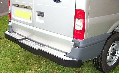Ford Transit Mk6 Mk7 2000 - 2014 Rear Bumper Step Tow Bar Checkaplate None Slip