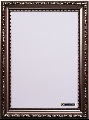 Ornate Shabby Chic Gunmetal Picture Photo Frame Plastic A1 A2 A3 Poster Frame