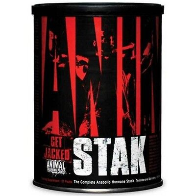 Animal Stak 21 Packs Male Hormone Test Booster Supplement Muscle growth Gain