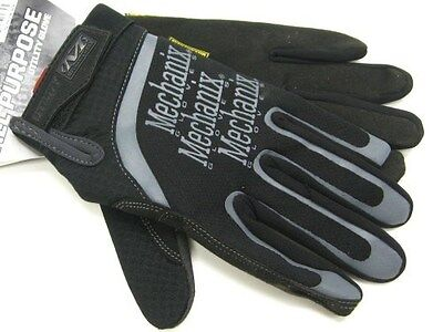MECHANIX WEAR Size Small S Black UTILITY Multipurpose Work Gloves! H15-05-008