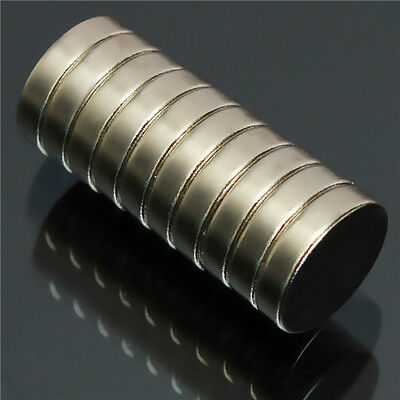10pc N52 Super Strong Round Disc Magnets 12mmx3mm Rare Earth Neodymium Magnets