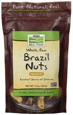 NOW Foods Brazil Nuts Raw - 12 oz.