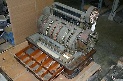 National Cash Register No. 542 Brass from 1909 Serial #796855