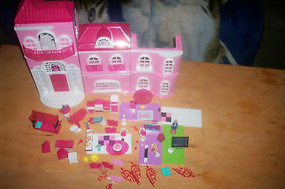 Barbie Build 'n Style Luxury Mansion Mega Bloks - parts and pieces