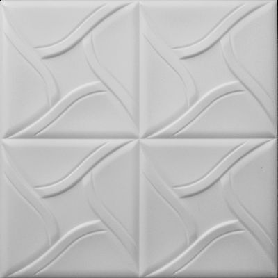 POLYSTYRENE TILES  PANELS WALL CEILING (Pack of 24) 6 Sqm - SQUARES
