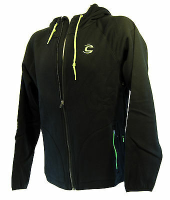 Cannondale Men's Cycling Hoodie - 5M143, Black, Size Large