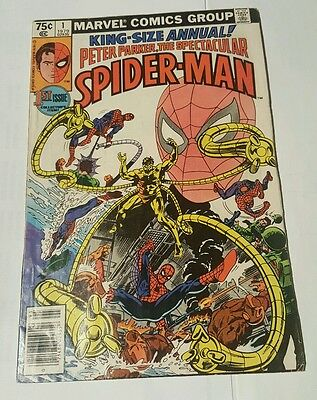 peter parker ,the spectacular spider-man # 1 king-size annual