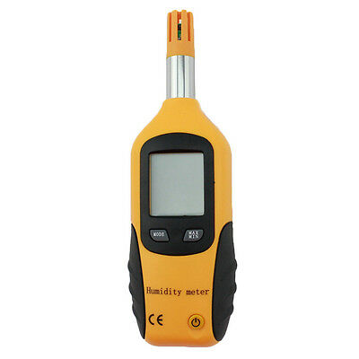 HT-86 Mini Temperature & Humidity Meter W/Dew Point & Wet Bulb Thermohygrometer