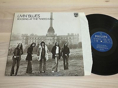 Livin´ Blues Lp Rocking At The Tweed Mill/1972 Dutch Philips