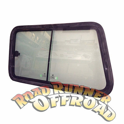 GQ/MQ Nissan Patrol LWB Rear cargo window replacement sliding window complete pa