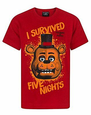 Ragazzi - Noisy Sauce - Five Nights At Freddy's - T-Shirt (11-12 Anni)