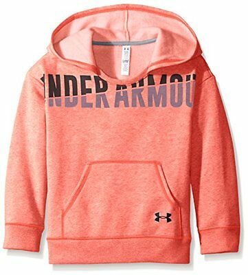 Under Armour Favorite-Felpa con cappuccio, da ragazza, rosa Chroma taglia: XL (t