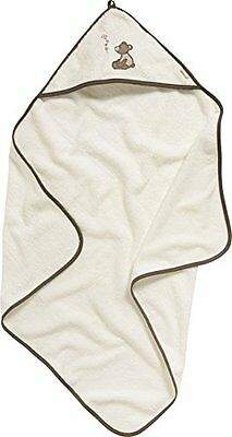 Playshoes Kinder Frottee-Kapuzentuch Bär, Accappatoio Bambina, Beige (Beige), Ta