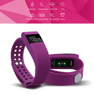 Intelligente Bracciale Bluetooth Monitor OLED Call/SMS Reminder Per Android IOS