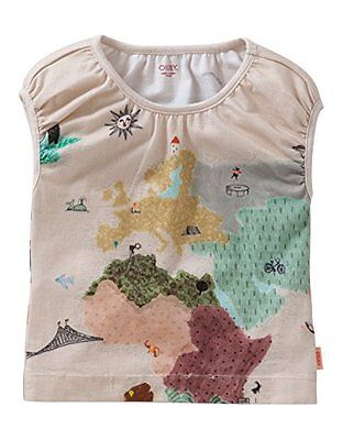 Beige (Brown 82) (TG. 7 anni (122 cm)) Oilily Tooba T-shirt-Top Bambine e ragazz