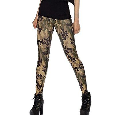Aivtalk -  Leggings  - ragazza, Taille unique, camouflage rose