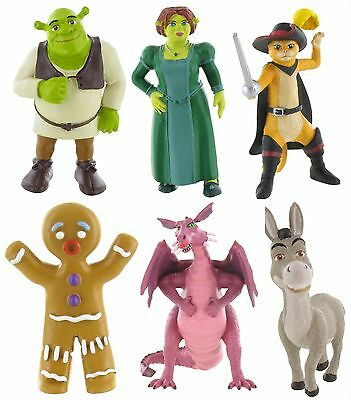 Disney Shrek 6 Miniatures Cake Toppers Toy Figures (choose) Comansi New