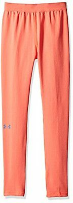 Under Armour-Leggings da ragazza, rosa Chroma calcio, taglia: S (taglia del prod