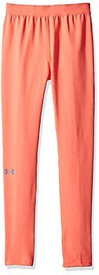 Under Armour-Leggings da ragazza, rosa Chroma calcio, taglia: XS (taglia del pro